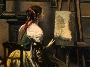 Corot-The-Artists-Studio-De