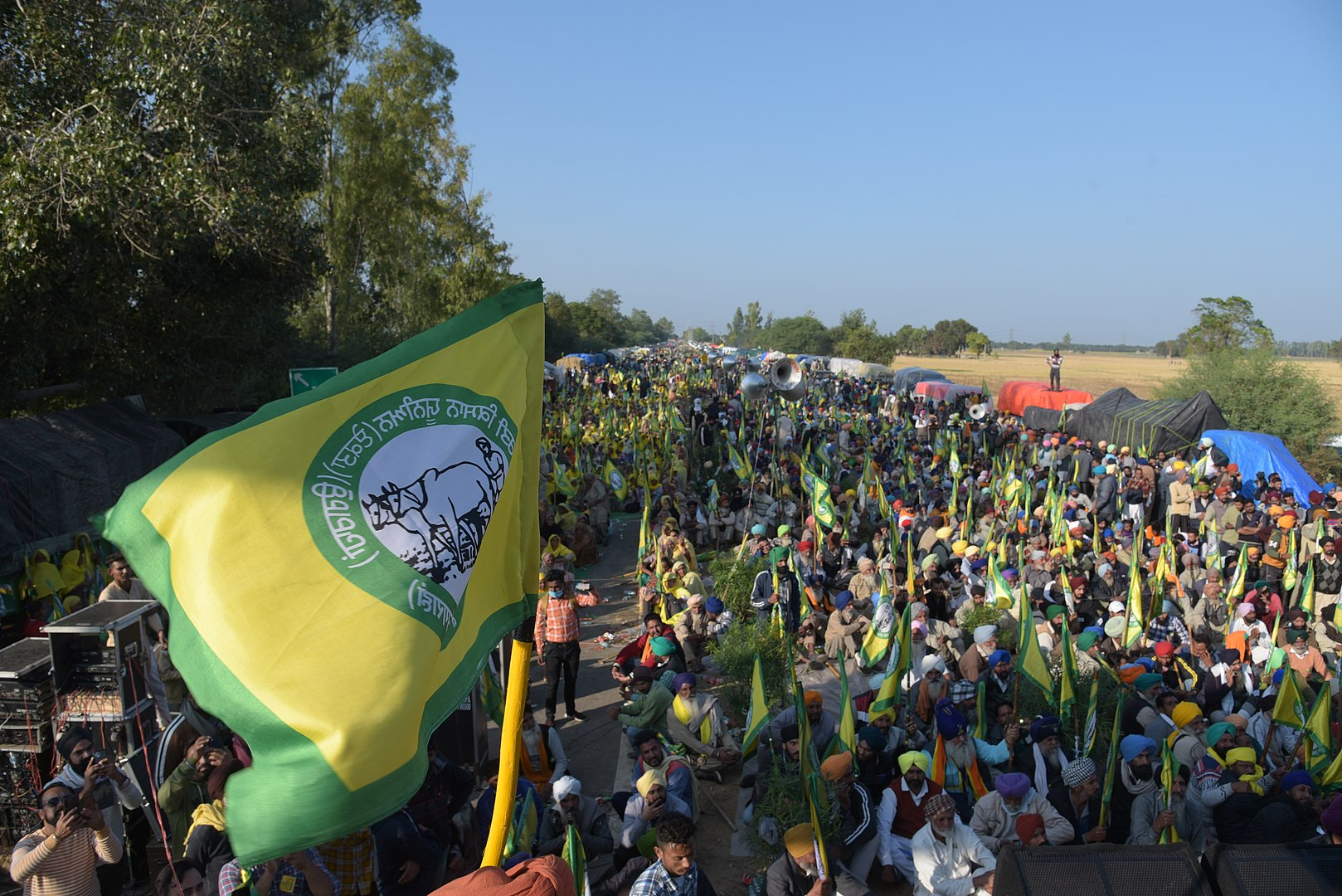 Reconstructing our solidarity with the farmers' protest